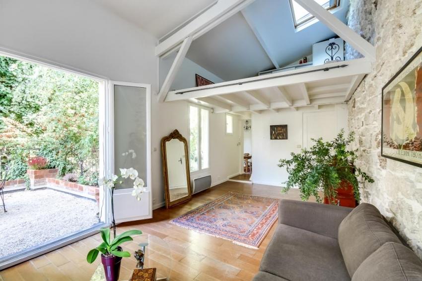 Comme une maison la campagne a paris ambition immobilier for Immobilier appartement atypique paris