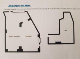 PARIS 15 - A VENDRE MURS DE BOUTIQUE - RUE DE L'ARMORIQUE- SOUS PROMESSE DE VENTE