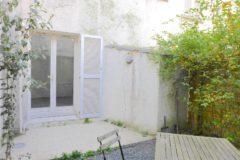 #VENDU# PARIS 15-Studio avec Jardin - Quartier DUPLEIX Bd de GRENELLE