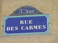 #EXCLUSIVITE# - PARIS 5 - CHAMBRE DE SERVICE -Local - RUE DES CARMES